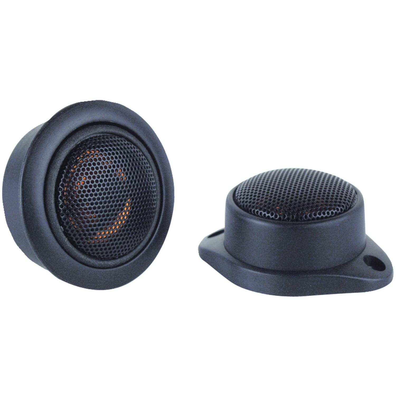 "Boss Audio Systems Tw12 200-watt Dome Tweeters (.5"" Micro-dome Tweeters)"