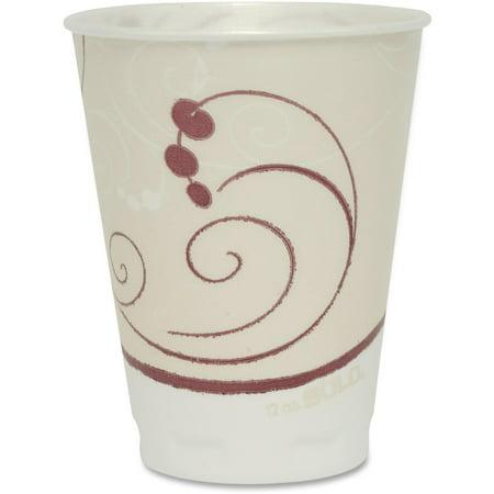 Solo, SCCOFX12NJ8002, Cup Thin-wall Foam Cups, 300 / Carton, White, 12 fl - White Solo Cups