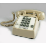 Cortelco ITT-2500-27FM 250044-VBA-27F Desk w/ Flash/Message Ash