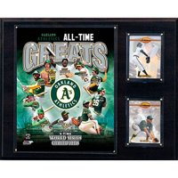 C&I Collectables MLB 12x15 Oakland Athletics All-Time Greats Photo Plaque