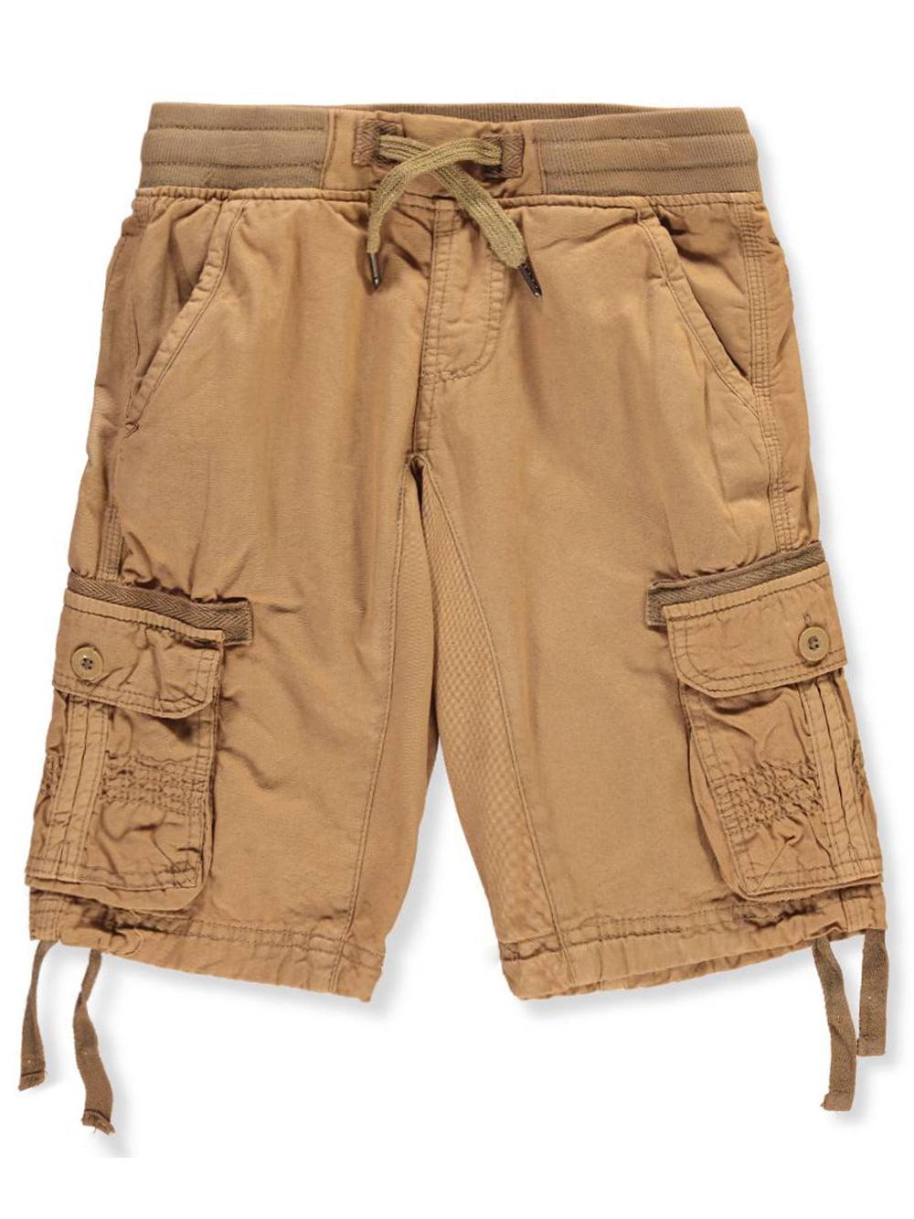 Boys' Twill Cargo Shorts