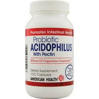 American Health Potent Probiotic Acidophilus With Pectin Capsules, 100 Ea