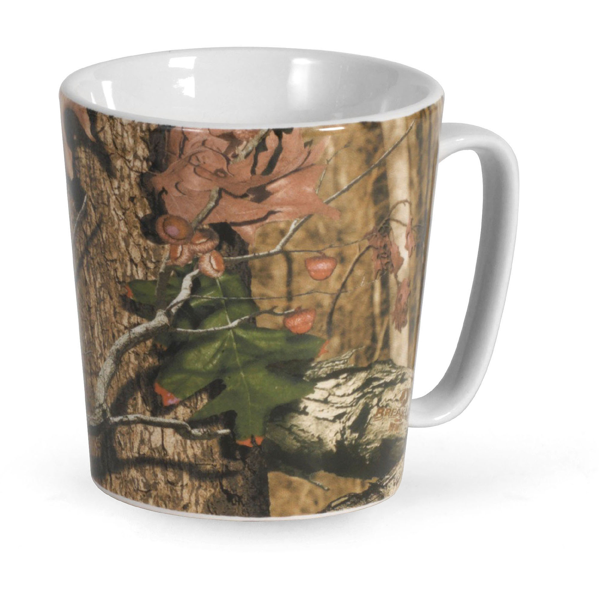Mossy Oak Green Break Up Infinity Set of 4, 16 Ounce Mugs
