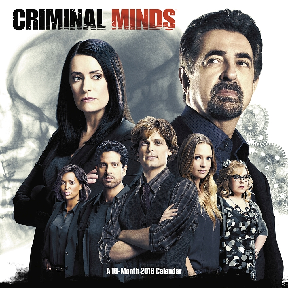 Criminal Minds Wall Calendar, Drama TV by ACCO Brands by Acco Brands