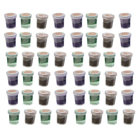 BULK - 48 Witch's Potion - Mini Slime Containers for Halloween Goody Bags - Trick or - Bin Bag Halloween Decorations