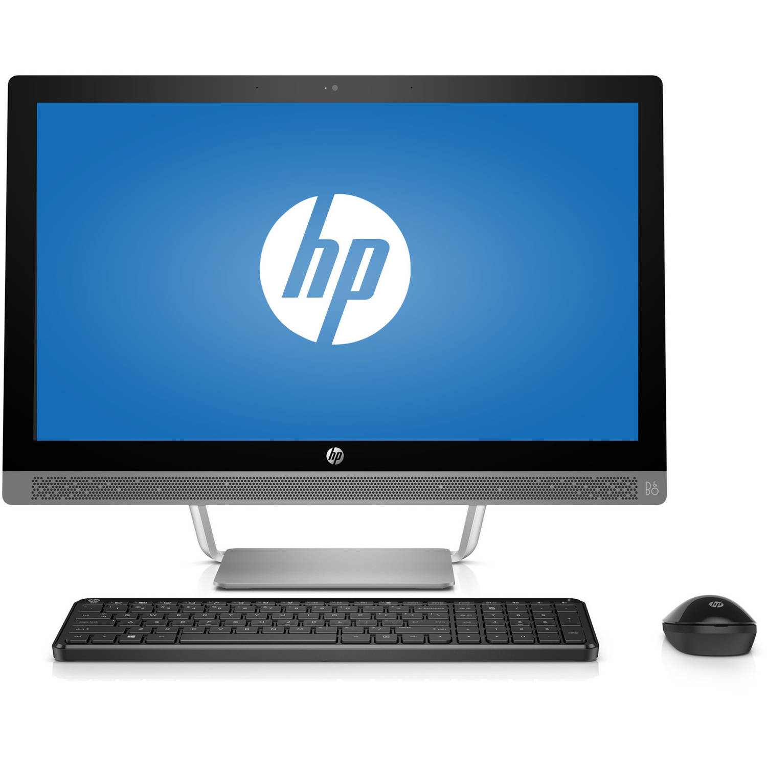 "HP Pavilion 24-a210 All-in-One Desktop PC with Intel Core i5-7400T Processor, 8GB Memory, 23.6"" Monitor,... by HP"