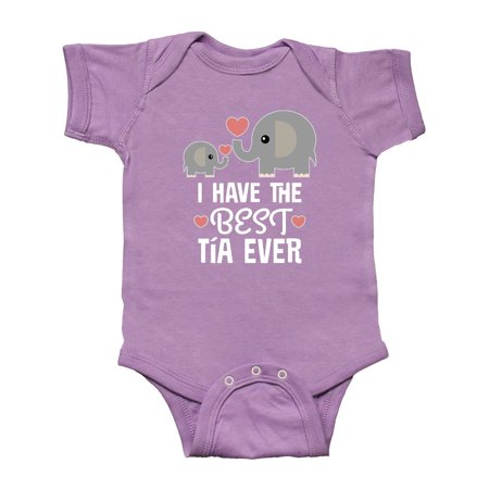 Best Tia Ever Niece Nephew Gift Infant Creeper