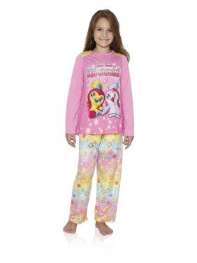 Hatchimals Girls Long Sleeve Pajamas 6-12, Pink, Size: S (6/6x)