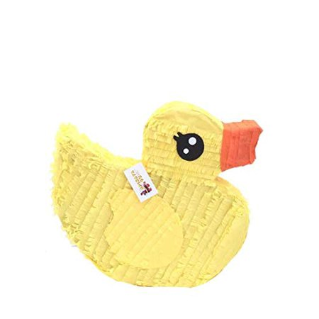APINATA4U Yellow Rubber Duck Pinata Great for Baby Shower or - Rubber Duck Baby Shower Supplies