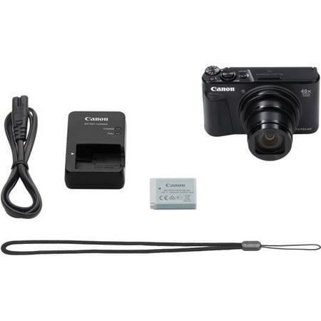 Canon PowerShot SX740 HS 20.3 Megapixel Compact Camera Black