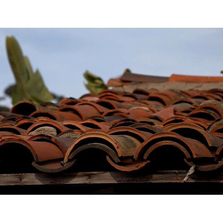 - Canvas Print Tiles Roofing Terracotta Clay House Roof Stretched Canvas 10 x 14