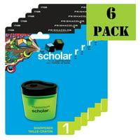 Prismacolor Scholar Pencil Sharpener - Value Pack of 6