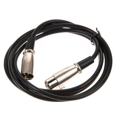 AYA 10Ft (10 Feet) XLR 3-Pin Male to Female Microphone Extension Cable (Bogen Microphone Cable)