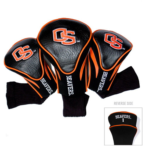 Team Golf NCAA Oregon State 3 Pack Contour Head Covers