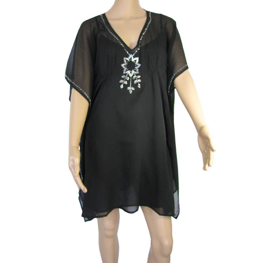 Antik Batik Womens 'Amy' Two-Piece Mini Kaftan Dress