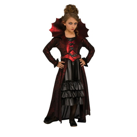 Girls Victorian Vampire Costume](Kids Vampire Costumes For Girls)