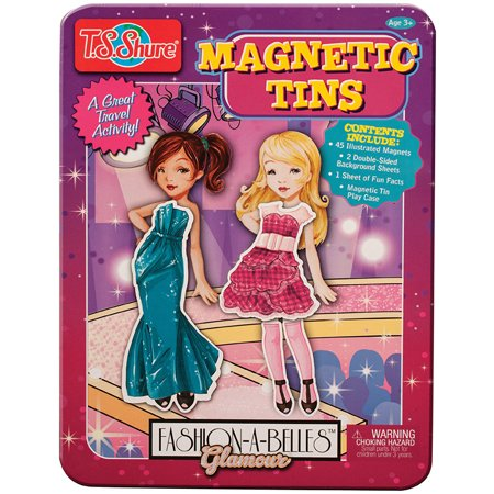T.S. Shure Fashion A Belles Glamour Magnetic Tin Play Set