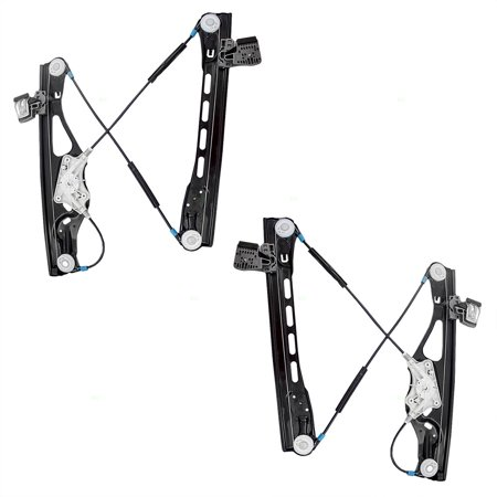 Pair Set Front Power Window Lift Regulators Replacement