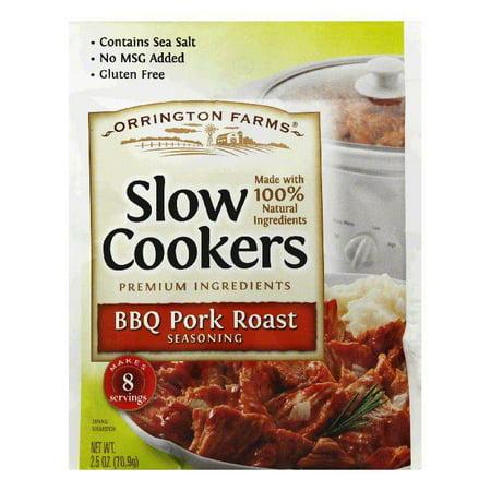 Orrington Farms BBQ Pork Roast Slow Cookers Seasoning, 2.5 Oz (Pack of 12) Orrington Farms BBQ Pork Roast Slow Cookers Seasoning, 2.5 Oz (Pack of 12)