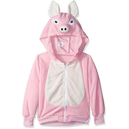 Rg Costumes 40518-M Penelope Pig Child Hoodie Costume - Pink, Medium - image 1 of 1