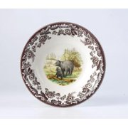 Spode Woodland American Wildlife Ascot Bowl Black Bear