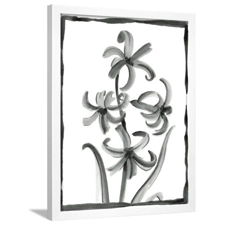 Non-embellished Sumi-e Floral III Framed Print Wall Art By Ethan Harper Harper Floral Print