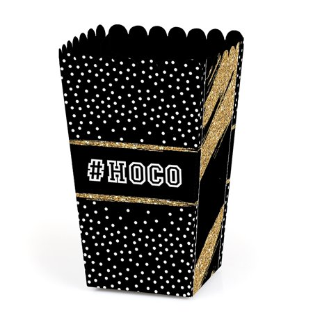 HOCO Dance - Homecoming Favor Popcorn Treat Boxes - Set of 12](Homecoming Party)