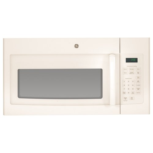 GE 1.6 Cu. Ft. Over-the-Range Microwave - Bisque on Bisque