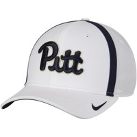 Pitt Panthers Nike 2017 AeroBill Sideline Swoosh Coaches Performance Flex Hat - White