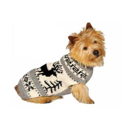 Chilly Dog Red Classic Argyle Dog Sweater - Halloween Chili Dogs