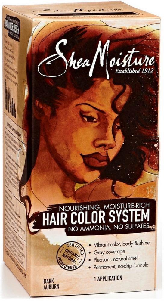 Shea Moisture Hair Color System Dark Auburn 1 Ea Walmart