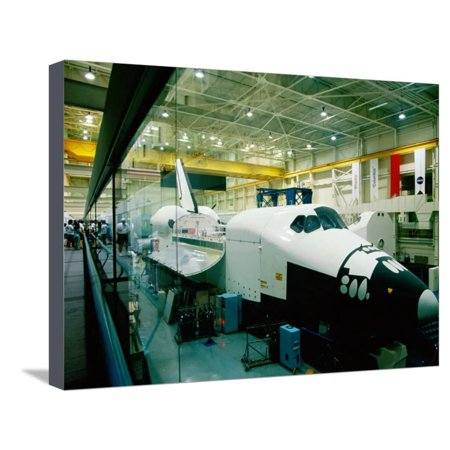 Training Space Shuttle, International Space Station Program, Johnson Space Center, Houston, Texas Stretched Canvas Print Wall Art By Holger Leue