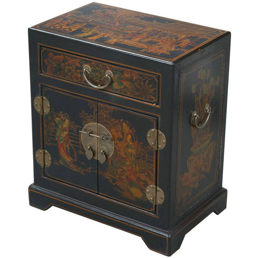 EXP Handmade Antique Style Tang Dynasty End Table/Accent Table