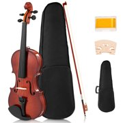 Best Full Size Violins - Costway Full Size 4/4 Violin Solid Wood Review