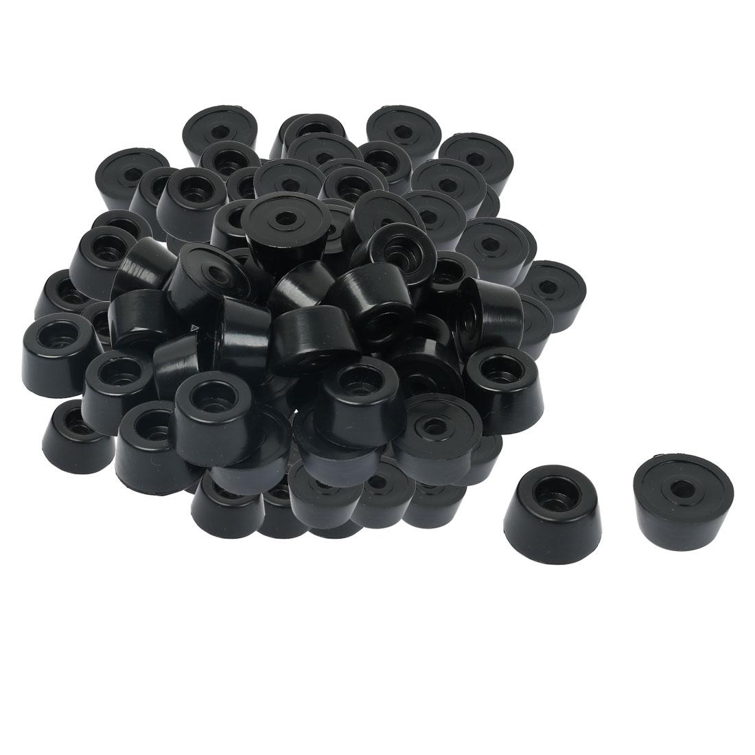 60pcs Rubber Feet Bumper Speaker Floor Protector Table Leg Pads, D19x15xH10.5mm - image 7 de 7