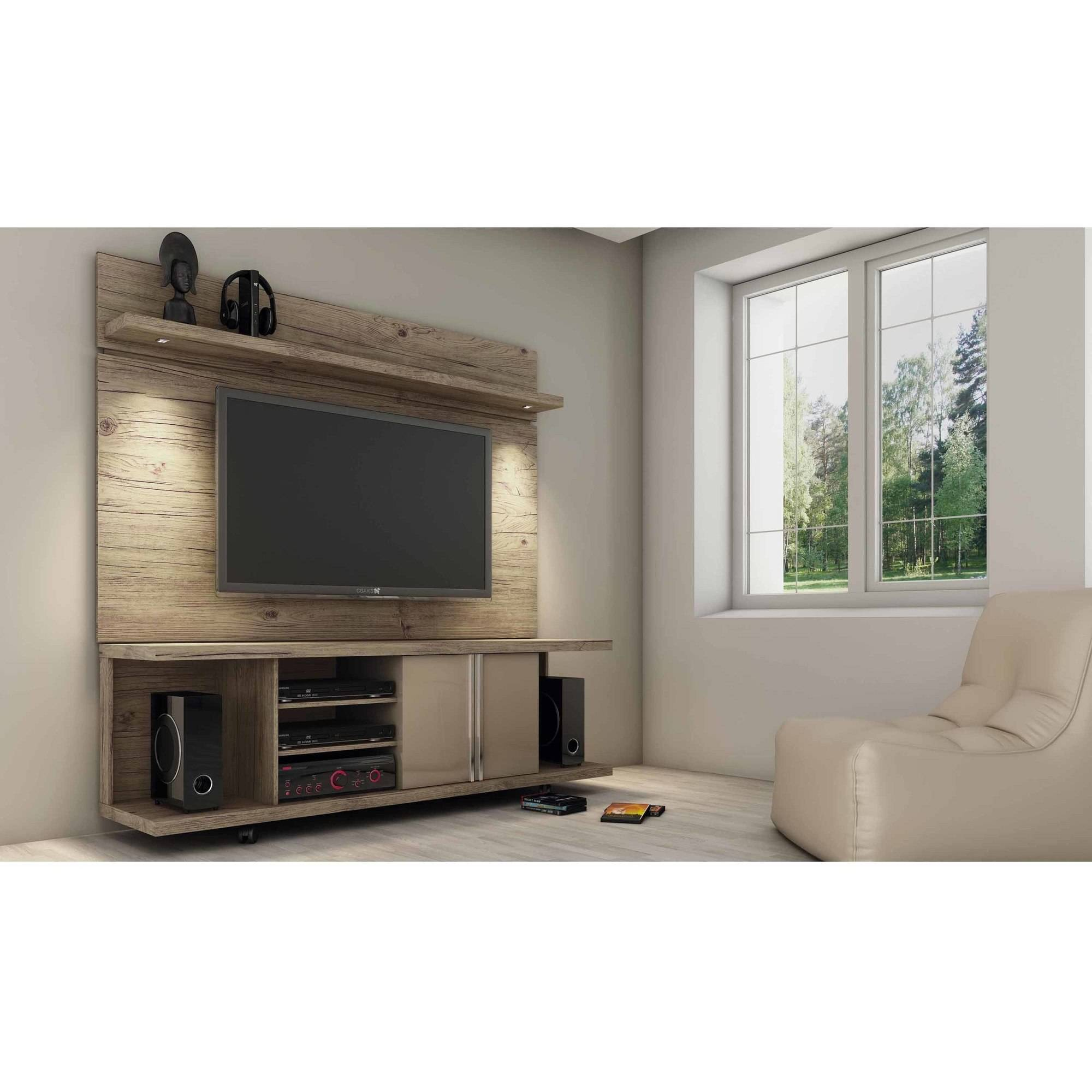 Manhattan Comfort Carnegie Tv Stand And Park 1 8 Floating Wall Tv