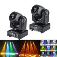 2PC RGBW LED Moving Head Light New DMX512 Stage Party DJ Wash Beam Lighting 7/10