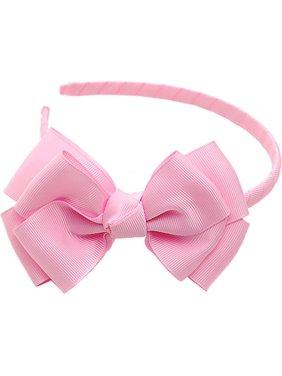 ec017e1f50773 Product Image Light Pink Ribbon Bow Hairband Hair Accessory. Sophias Style