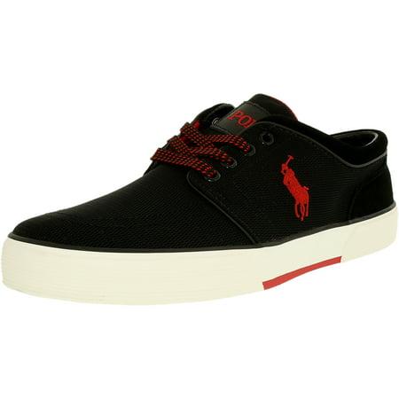 Polo Ralph Lauren Faxon Low Men's Black Sneaker's 10.5M