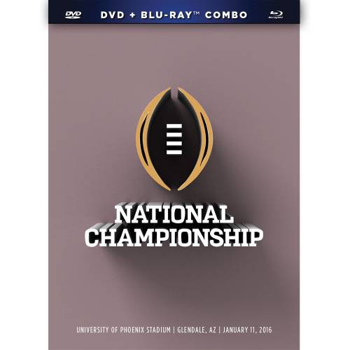 2016 CFP National Championship (Blu-ray + DVD)