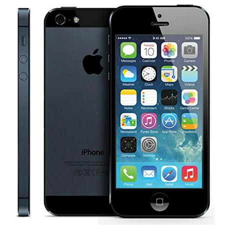 Refurbished Apple iPhone 5 16GB, Black - AT&T (Apple Iphone 5 16gb Black & Slate)