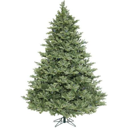 vickerman 75 idaho frasier fir artificial christmas tree with 400 multi colored led lights - Fraser Fir Artificial Christmas Tree