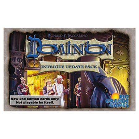 Intrigue 2nd Ed Board Game Update Pack Cards Upgrade Covers Family Fun Playable Rio Grande