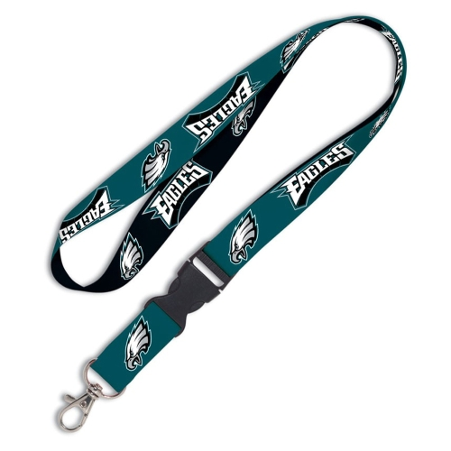 Philadelphia Eagles  Breakaway Lanyard - Midnight Green - No Size