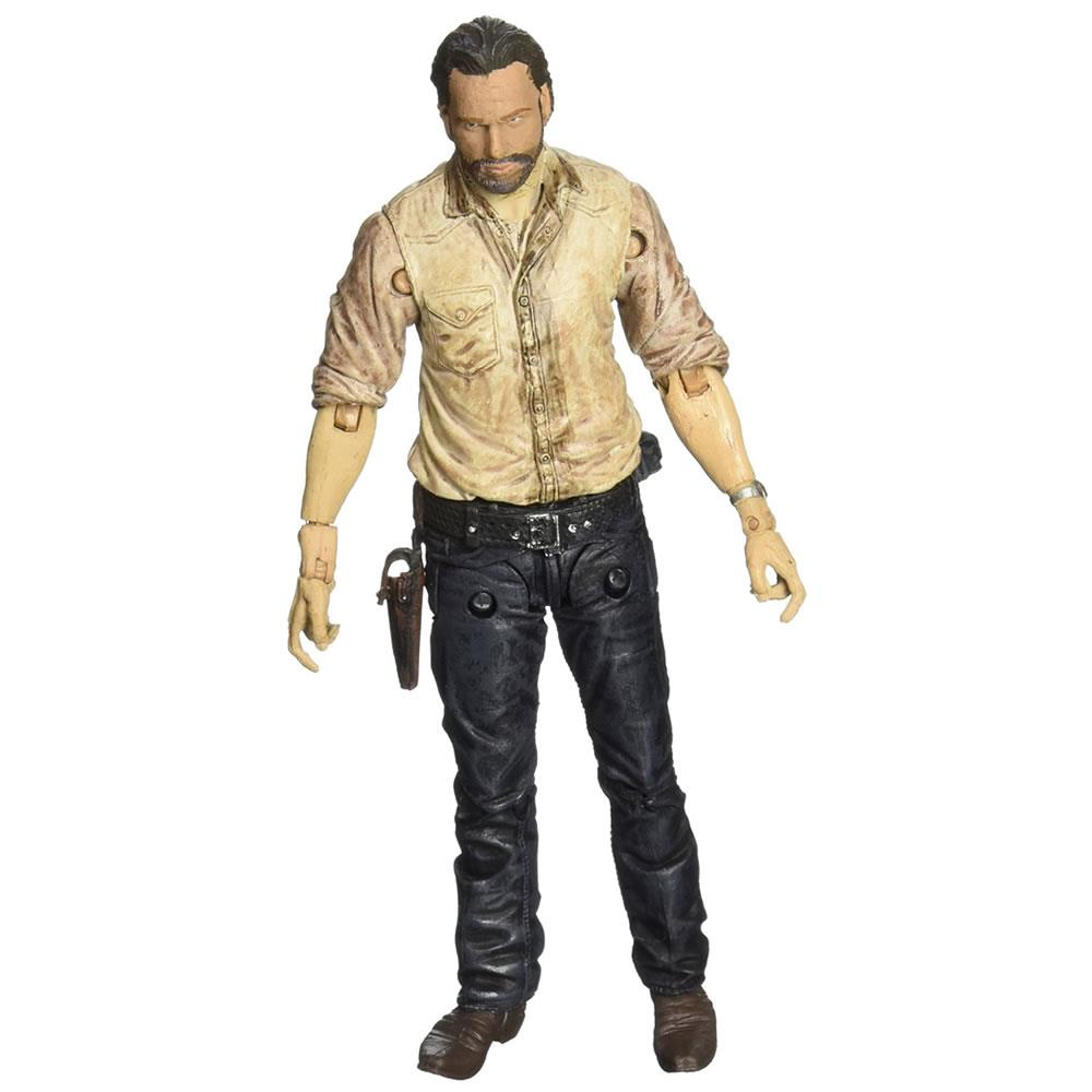 The Walking Dead: Rick Grimes Figure McFarlane Toys Series 6 TV AMC Leader Police 145410