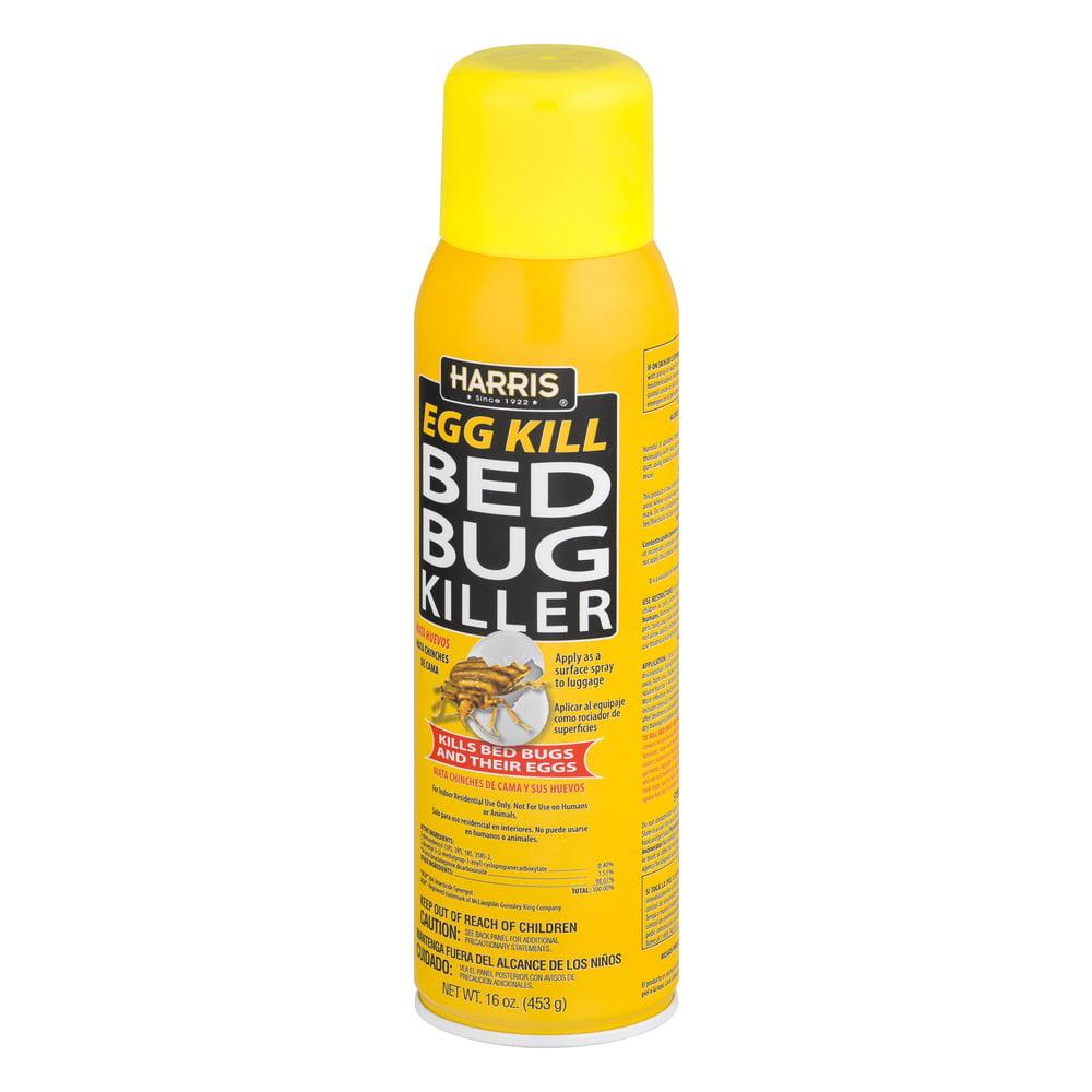 harris egg kill bed bug killer, 16.0 oz - walmart