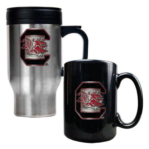 Great American NCAA Travel and Ceramic Mug Set