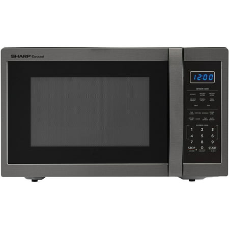 Sharp Zsmc1452ch 1 4 Cu Ft Microwave Black Stainless Steel