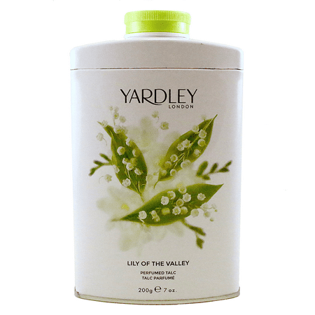 Lily Of The Valley Perfumed Talc 7 Oz / 200g