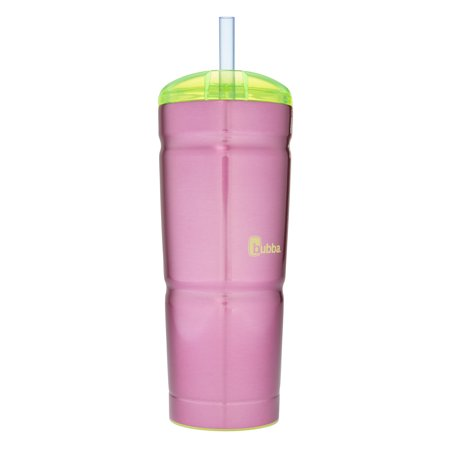 Bubba 24 Oz Envy Insulated Stainless Steel Tumbler with Straw, Paradise Purple
